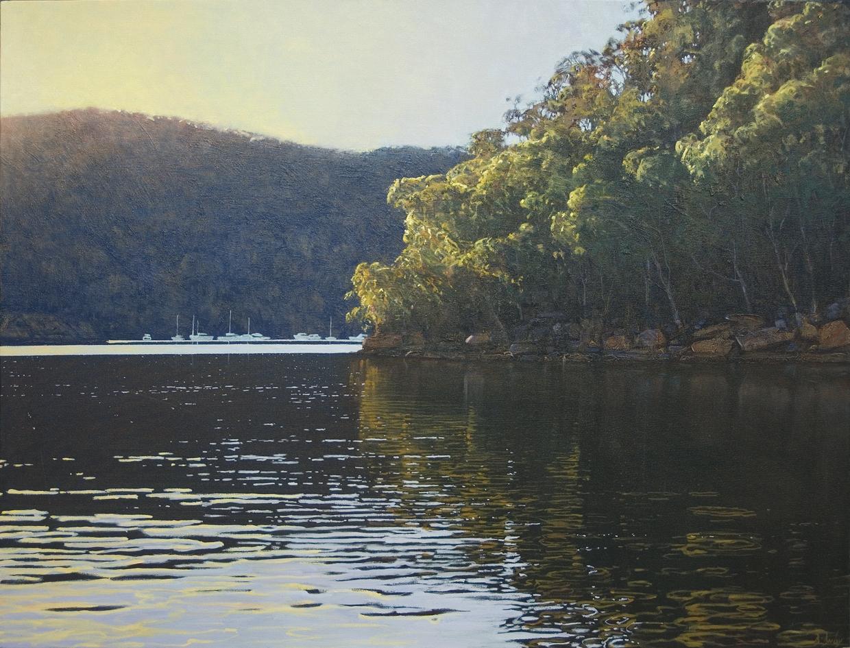 """At Rest"" 90 x 120cm Oil on Acrylic on Canvas"