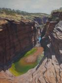 Below Joffre Falls