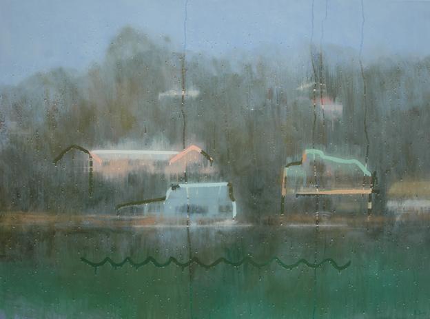 """Cottage Point"" 110 x 150cm Oil on Canvas"