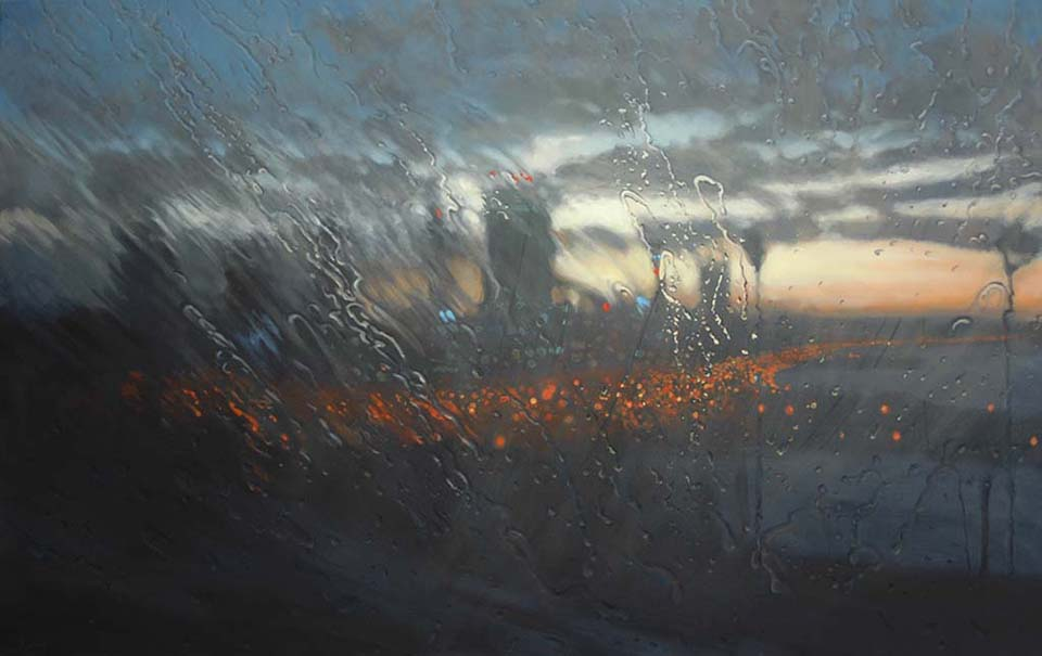 Dawn From Kings Park 130 x 210cm Oil on Canvas