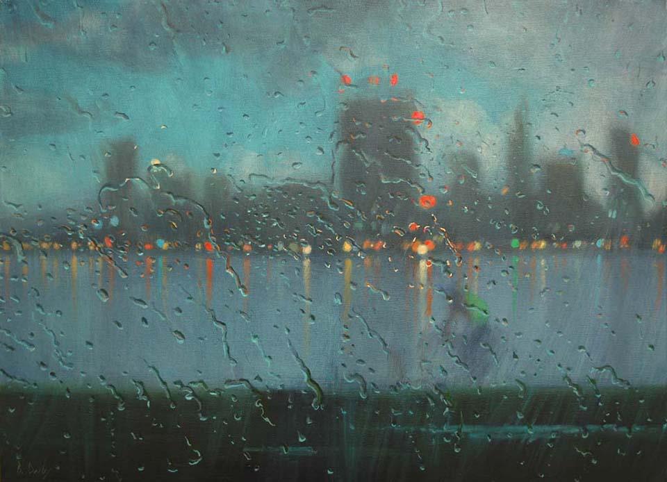 """Dedication"" 80 x 110cm Oil on Canvas"