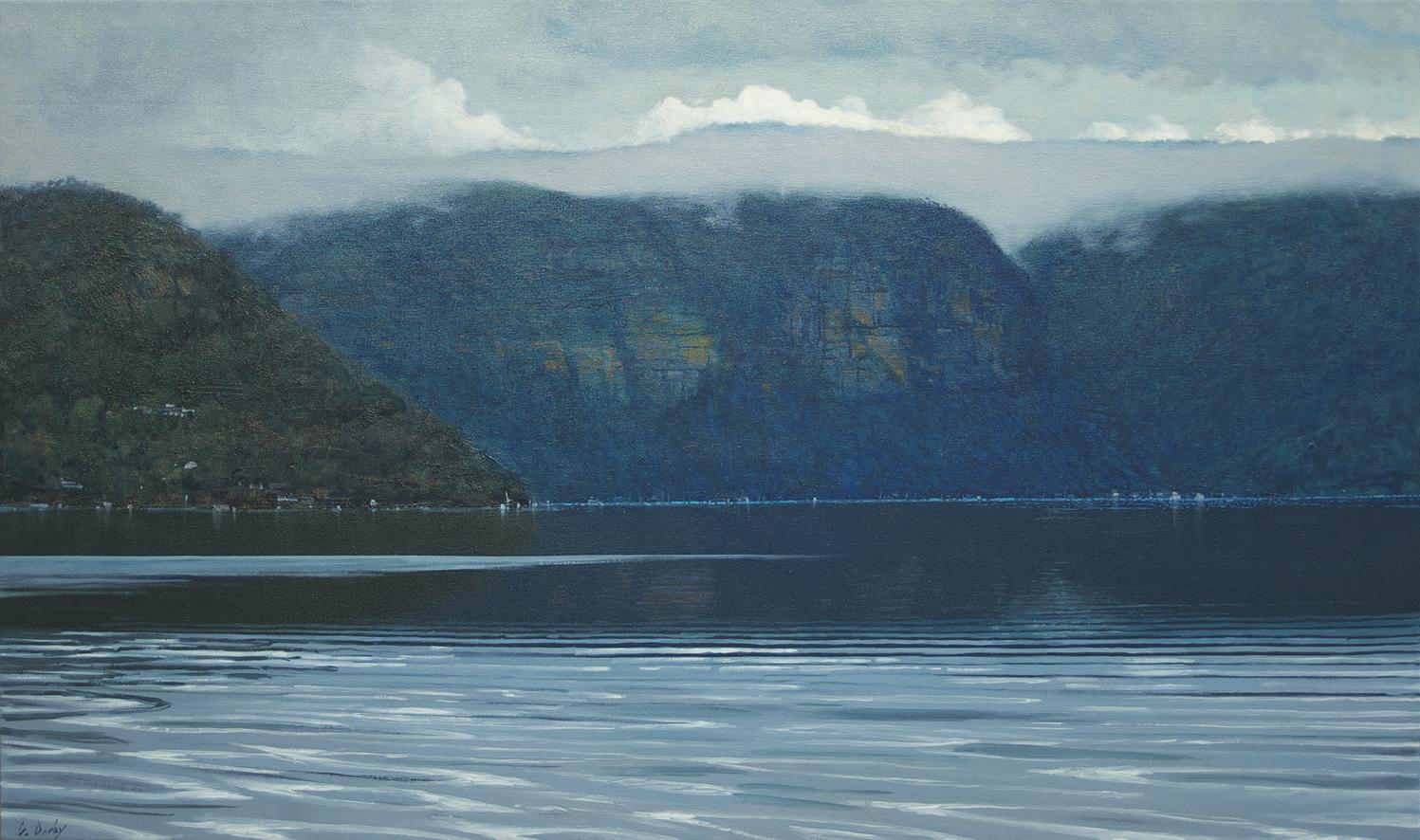 """""""Evening Still"""" 80 x 130cm Oil on Acrylic on Canvas"""