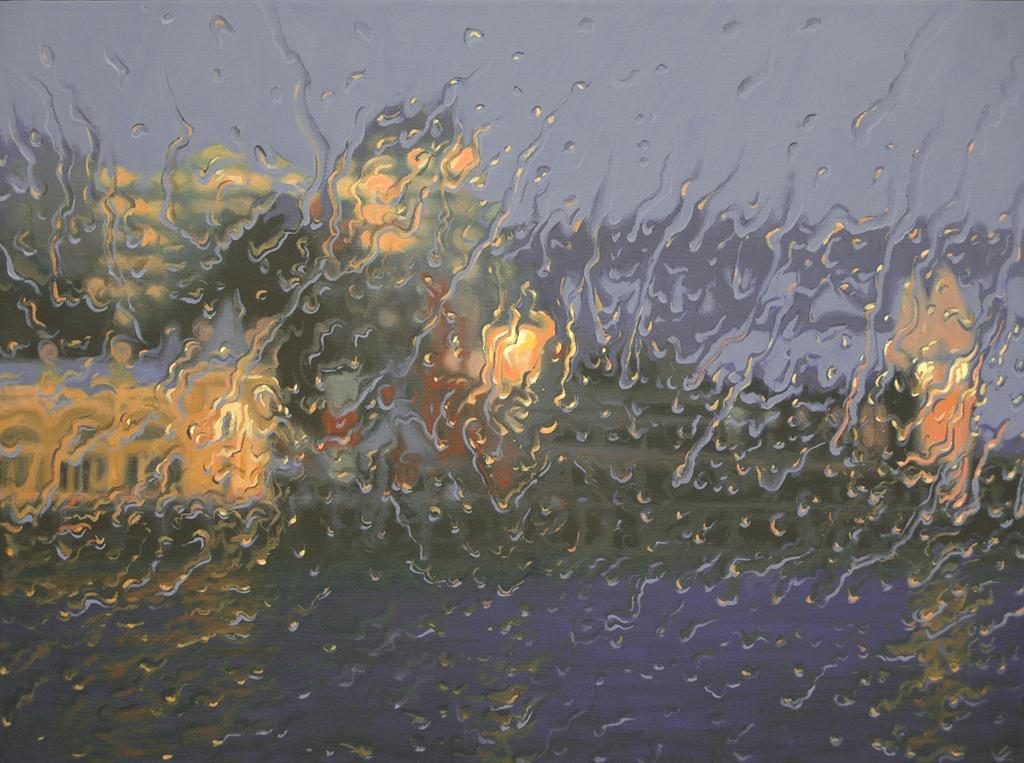 """""""Luna Park"""" 80 x 110cm Oil on Canvas"""