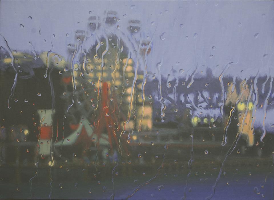 """""""Luna Park 2"""" 80 x 110cm Oil on Canvas"""