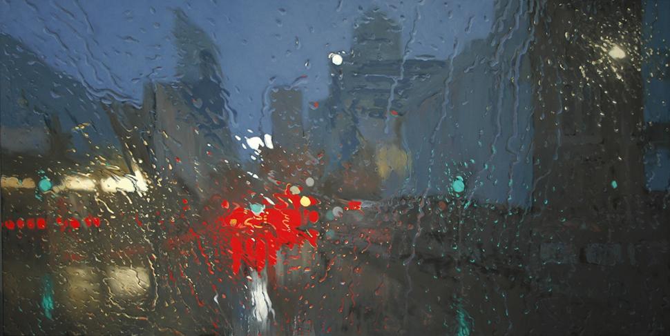 """Northbridge 2"" 125 x 250cm Oil on Canvas"