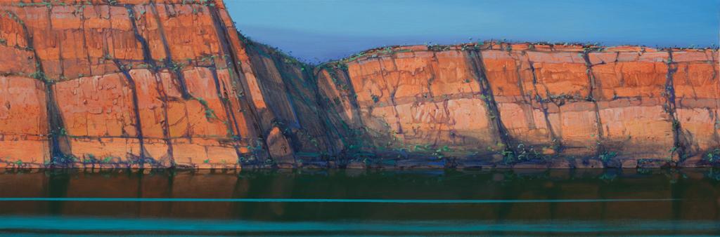 """""""Timelines"""" 60 x 180cm Oil on Acrylic on Canvas"""