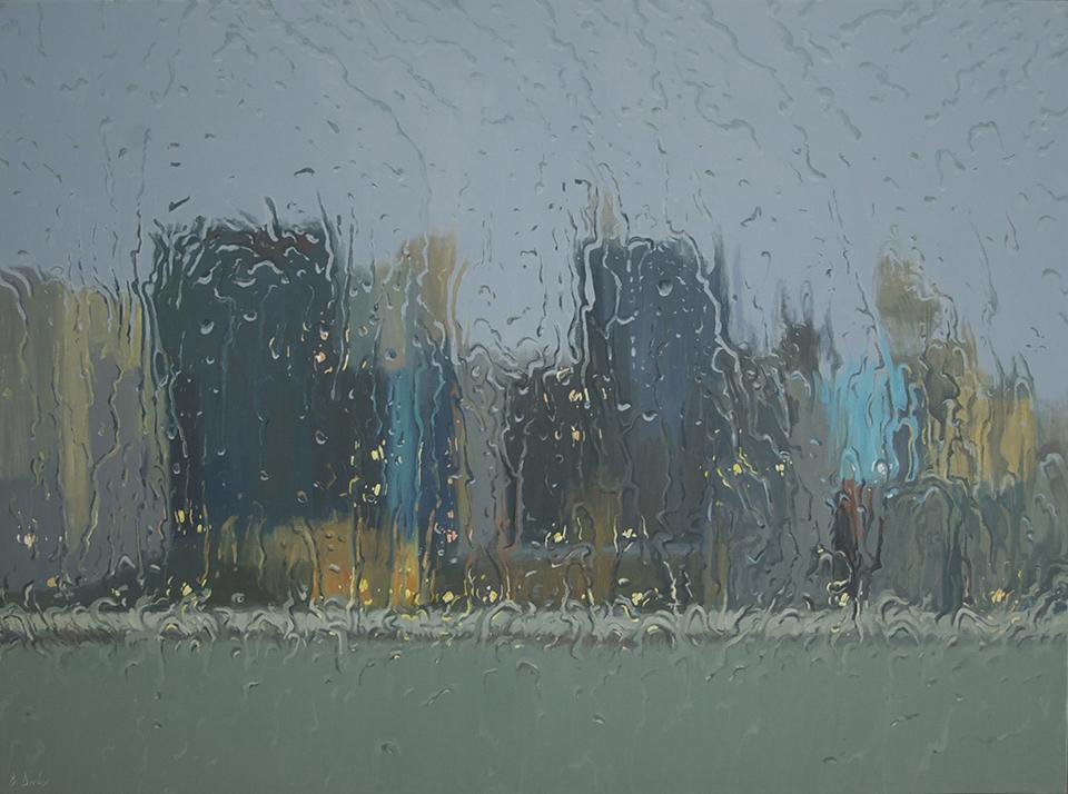 """Winter Cruise"" 110 x 150cm Oil on Canvas"