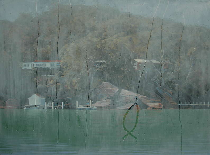 """""""Wishful Thinking"""" 110 x 150cm Oil on Canvas"""