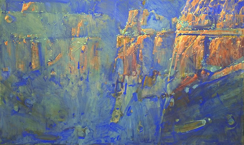 """A Karijini Dawn"" 91 x 153cm"
