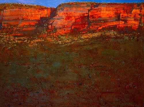 As Night Climbs the Escarpment