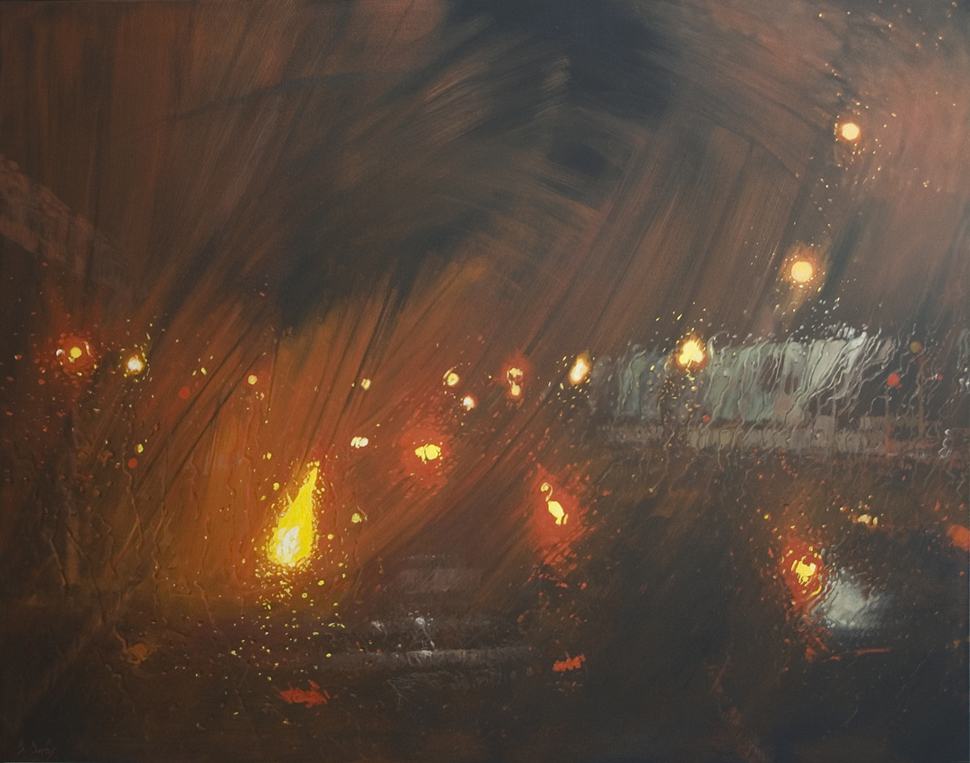 """""""Diffusion"""" 122 x 152cm Oil on Canvas"""