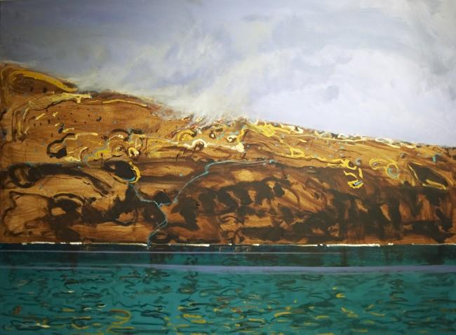 Brendon Darby paints Chris Walden's Symphony No. 1 (The Four Elements)
