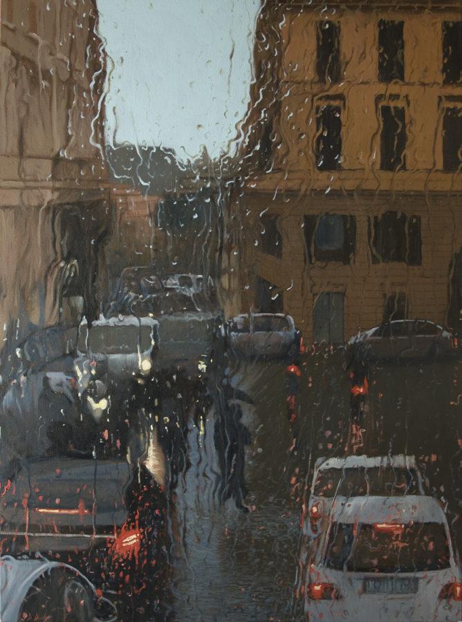 """Trevi"" Oil on Canvas 150 x 110cm"