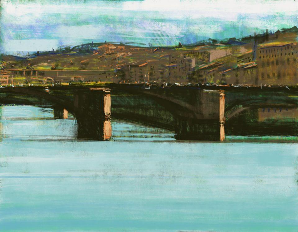 """Firenze"" Digital Print 70 x 90cm"