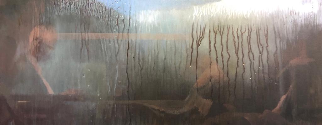 """Journey"" Oil on Canvas 60 x 120cm"