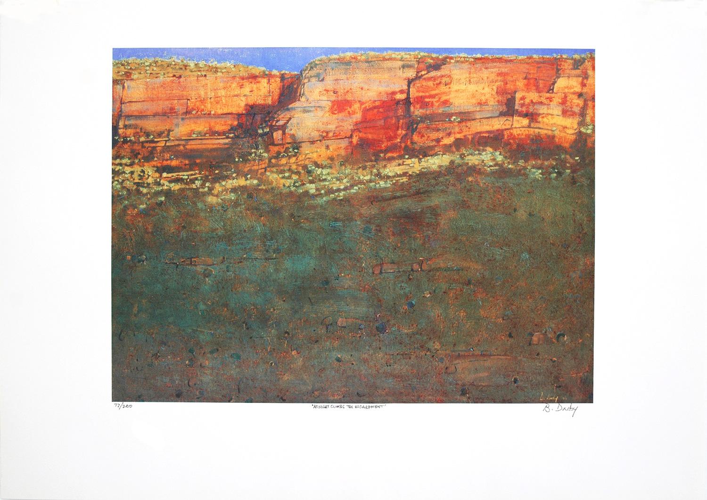 As Night Climbs the Escarpment Kakadu LE Print Brendon Darby