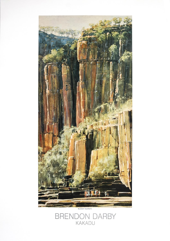 Bloody Tourists - Listening to Paintings - Kakadu Print