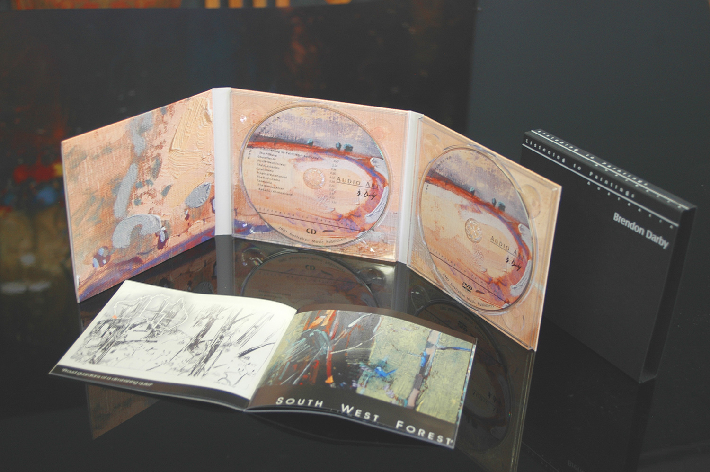Listening to Paintings Australia CD DVD