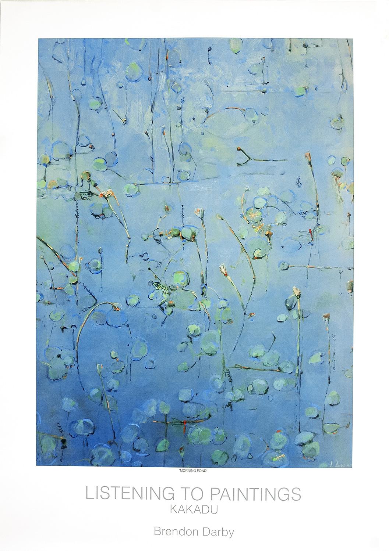 Morning Pond - Listening to Paintings - Kakadu Print