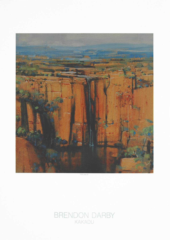The Falls - Listening to Paintings - Kakadu Print