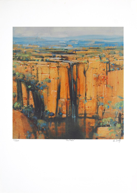 The Falls Kakadu LE Print Brendon Darby