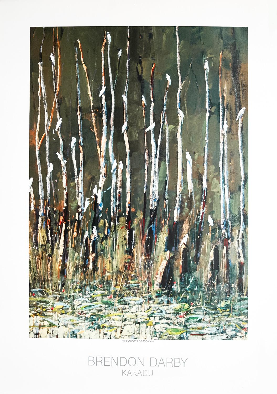 The Ghosts of Fog Dam - Listening to Paintings - Kakadu Print